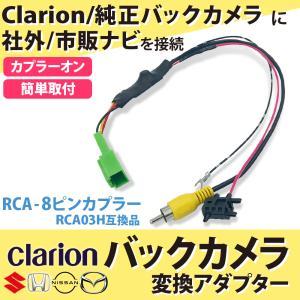 スズキ パレットSW H21.10〜H25.2 バックカメラ変換アダプター  カメラ 変換 純正カメ...