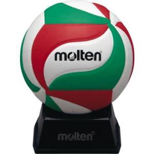 モルテン molten V1M500 サインボール バレーボール ボール 白×赤×緑
