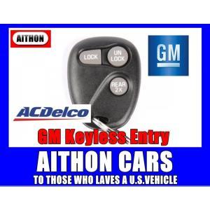 GM純正キーレスリモコン 3ボタン ACデルコ製|aithoncars-netshop
