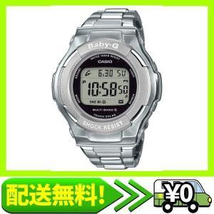 [カシオ] 腕時計 ベビージー 電波ソーラー BGD-1300D-7JF シルバー aito-create