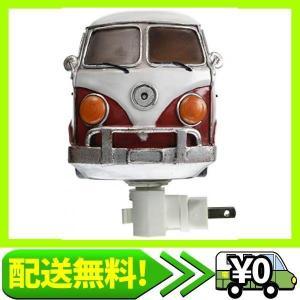 秋月貿易 デザイン小物 RED BUS W9.5×D9×H13cm ナイトランプ フットランプ 16WT12R|aito-create