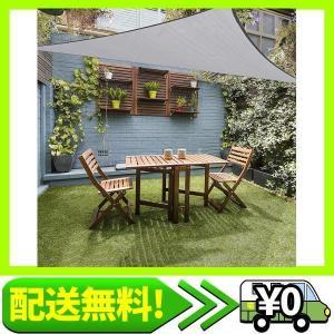 SUSUQI 涼風シェード シェード 日除け オーニング 紫外線98%カット UVカット セイル つっぱり式 サンシェー・・・ aito-create
