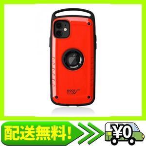 【ROOT CO.】[iPhone11専用]耐衝撃 Gravity Shock Resist Case Pro. (レッ・・・|aito-create