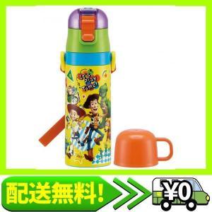 スケーター 子供用 2WAY ステンレス 水筒 コップ付き トイ・ストーリー ディズニー 430ml SKDC4 aito-create