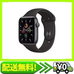 最新 Apple Watch SE(GPSモデル)- 44mmスペースグレイアルミニウムケースとブラックスポーツバンド|aito-create