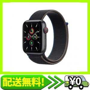 最新 Apple Watch SE(GPS + Cellularモデル)- 44mmスペースグレイアルミニウムケースとチ・・・ aito-create
