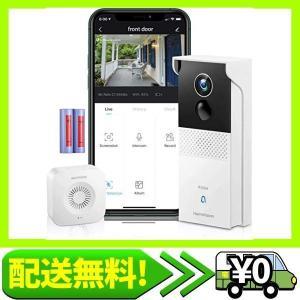 「最新版」HeimVision ワイヤレステレビドアホン 1080Pインターホン 無線WiFi スマホ連動機能 録・・・|aito-create