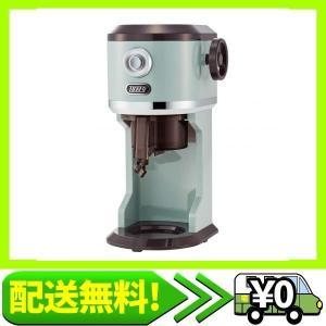 電動ふわふわかき氷器 K-IS8(ペールアクア) 本格かき氷 レバー無段階調節 味付き氷 ジュ・・・ aito-create