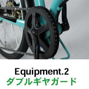 折りたたみ自転車 20インチ シマノ6段変速 ...の詳細画像4