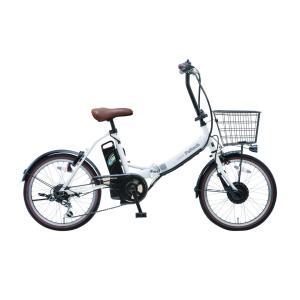 電動アシスト自転車 20インチ 折りたたみ自転車 電動自転車 シマノ外装6段変速  PELTECH ...