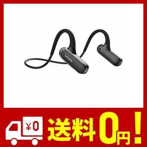 Ucomx Bluetooth イヤホン 耳を塞がず 開放型 スポーツ イヤホン 高音質 両耳通話 耳掛け式 液体シリコン 軽量快適 ワイヤレス イヤ|aiz