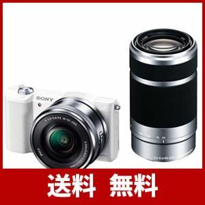 ソニー SONY ミラーレス一眼 α5100 ダブルズームキット E PZ 16-50mm F3.5...