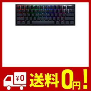 Ducky One 2ミニRGBチェリーMXスイッチPBTキーキャップ60%RGBメカニカルゲーミングキーボード (Cherry MX Brown)|aiz