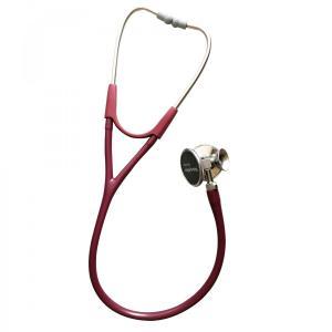 ウェルチアレン聴診器ハーベーDLXトリプルヘッド5079-322バーガンディー循環器聴診サポート aizen-shop