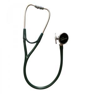 ウェルチアレン聴診器ハーベーDLXトリプルヘッド5079-324フォレストグリーン循環器聴診サポート aizen-shop