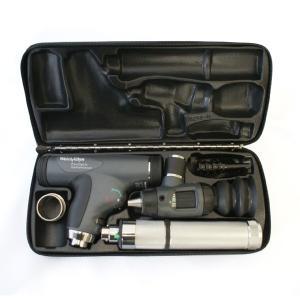 ウェルチアレン 耳鏡 眼底鏡セット 3.5Vパンオプティック検眼鏡+マクロビュー耳鏡+ニッカド充電式ハンドル+ハードケース 11810+23820+71000-C+05258-M|aizen-shop