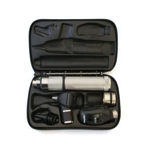 ウェルチアレン 耳鏡 眼底鏡セット 3.5Vハロゲン同軸検眼鏡+診断型耳鏡+ニッカド充電式ハンドル+ハードケース 11720+20000+71000-C+05259-M|aizen-shop
