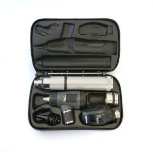 ウェルチアレン 耳鏡 眼底鏡セット 3.5Vハロゲン同軸検眼鏡+マクロビュー耳鏡+ニッカド充電式ハンドル+ ハードケース 11720+23820+71000-C+05259-M|aizen-shop