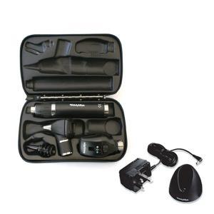 ウェルチアレン 耳鏡 眼底鏡セット 3.5Vハロゲン同軸検眼鏡+診断型耳鏡+リチウム充電式ハンドル+ハードケース 11720+20000+71907+05259-M|aizen-shop