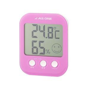 温湿度計-アズワン_カラフル温湿度計ピンクA-230-P|aizen-shop