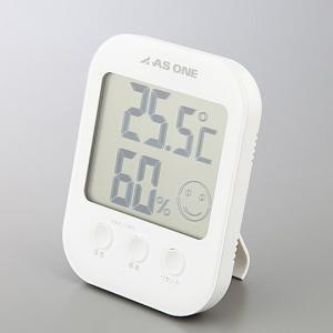 温湿度計-アズワン_カラフル温湿度計ホワイトA-230-W|aizen-shop
