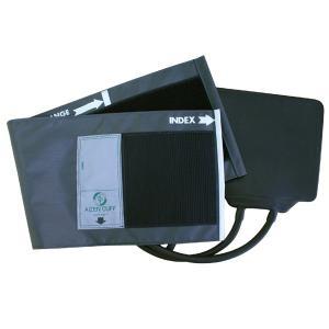 血圧計用部品・パーツ タイコス型ナイロンカフ・ゴム袋セット グレー|aizen-shop