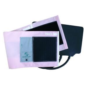 血圧計用部品・パーツ タイコス型ナイロンカフ・ゴム袋セット ピンク|aizen-shop