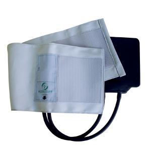 血圧計用部品・パーツ タイコス型綿カフ・ゴム袋セット グレー|aizen-shop