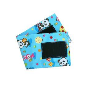 血圧計用部品・パーツ タイコス型綿カフのみ 小児用ブルー パンダ柄|aizen-shop