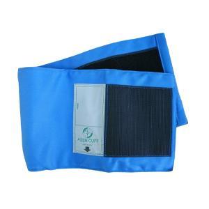 血圧計用部品・パーツ タイコス型綿カフのみ ブルー|aizen-shop