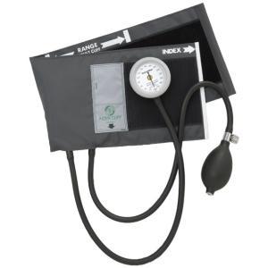 アネロイド血圧計-AIZENギヤフリー_ナイロン製タイコス型カフGF700-01グレー|aizen-shop
