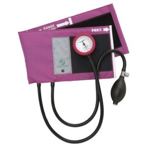 アネロイド血圧計-AIZENギヤフリー_ナイロン製タイコス型カフGF700-02マゼンタ|aizen-shop