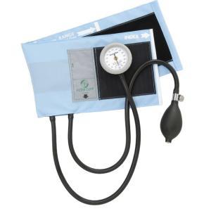 アネロイド血圧計-AIZENギヤフリー_ナイロン製タイコス型カフGF700-05スカイブルー|aizen-shop