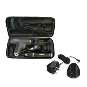 ウェルチアレン 耳鏡 眼底鏡セット 3.5Vパンオプティック検眼鏡+診断型耳鏡+リチウム充電ハンド(チャージャー付)+ハードケース 11810+20000+71907+05258-M|aizen-shop