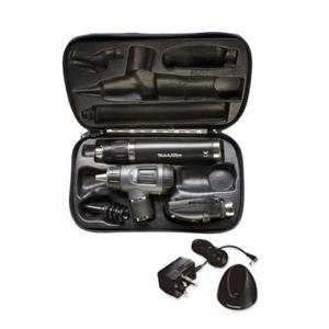 ウェルチアレン 耳鏡眼底鏡セット 3.5Vハロゲン同軸検眼鏡+マクロビュー耳鏡+リチウム充電ハンドル(チャージャー付)+ハードケース 11720+23820+71907+05259-M|aizen-shop