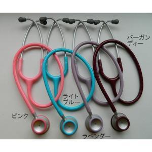 聴診器-ADスコープライトウェイトダブル-バーガンディーNo609BD|aizen-shop