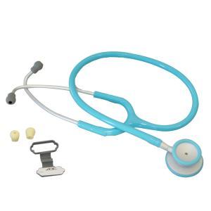 聴診器-ADスコープライトウェイトダブル- ライトブルーNo609LB|aizen-shop
