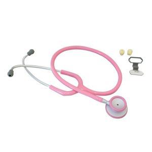 聴診器-ADスコープライトウェイトダブル-ピンクNo609P|aizen-shop