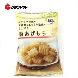 おいしさ大自然 塩あげもち 80g箱売り12袋入り アジカル【同梱不可】|aizu-crops