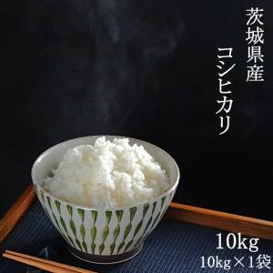 お米 29年産 コシヒカリ 10kg(5kg×2) (茨城県産) 白米 送料無料 通常発送|aizu-crops