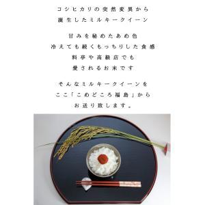 ミルキークイーン 米 10kg(5kg×2) お米 白米 平成29年 福島県産 送料無料 あすつく|aizu-crops|03