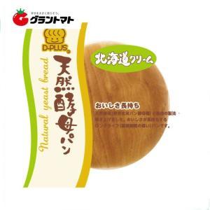 天然酵母パン 北海道クリーム (1ケース12個入り) ロングライフ菓子パン デイプラス 【同梱不可】|aizu-crops