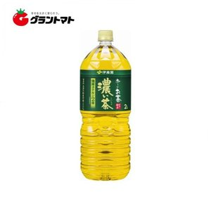 【2ケース】伊藤園 お〜いお茶 濃い茶 PET(2L×12本)【同梱不可】【送料無料】|aizu-crops