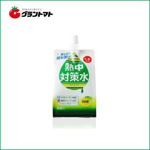 【1ケース】熱中対策水日向夏味 ソフトパウチ (300g×30個)赤穂化成【同梱不可】【送料無料】|aizu-crops