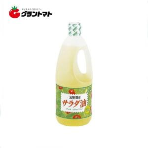 【1ケース】昭和 (SHOWA) サラダ油 ハンディ  (1500g×12本入り)【同梱不可】【送料無料】|aizu-crops