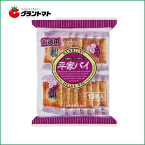 お徳用平家パイ 13枚入(1ケース10個入り)三立製菓 【同梱不可】|aizu-crops