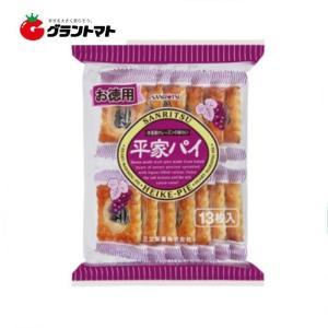 お徳用平家パイ 12枚入(1ケース10個入り)三立製菓 【同梱不可】|aizu-crops