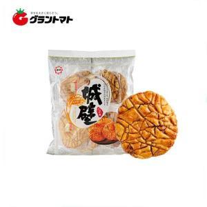 【1ケース】ひざつき製菓 城壁たまり (8枚入×12個いり) 【同梱不可】【送料無料】|aizu-crops