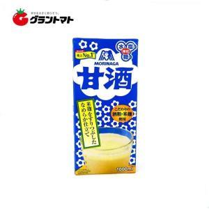 【1ケース】甘酒 (1000ml×6本入) 森永製菓【同梱不可】【送料無料】 aizu-crops