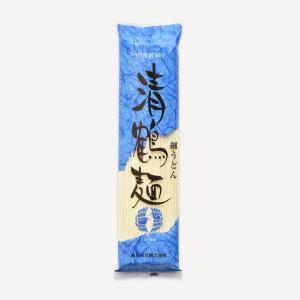 会津製麺 清鶴麺 細うどん(250g)
